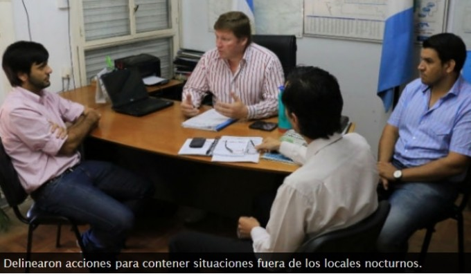 Para  Recistencia :Seguridad nocturna: articulan acciones entre Provincia y Municipio