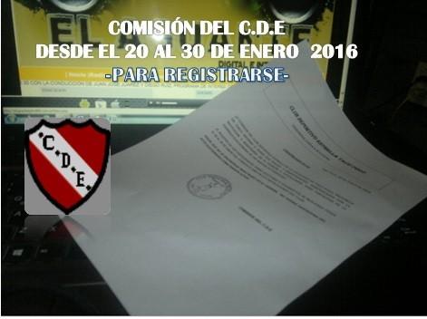 Club Deportivo Estrella -Personería  jurídica 2150/84 – CONVOCATORIA -