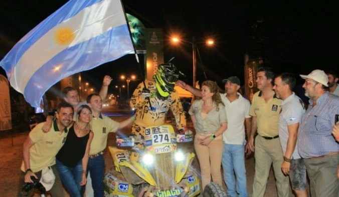 DAKAR 2017: PEPPO DESPIDIÓ A LOS COMPETIDORES QUE SE TRASLADARON A TUCUMÁN
