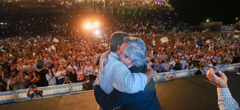 ALBERTO FERNÁNDEZ LLEGA AL CHACO, SU PRIMERA VISITA OFICIAL COMO PRESIDENTE