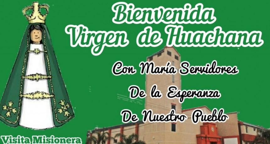 VISITA MISIONERA DE LA  VIRGEN DE HUACHANA