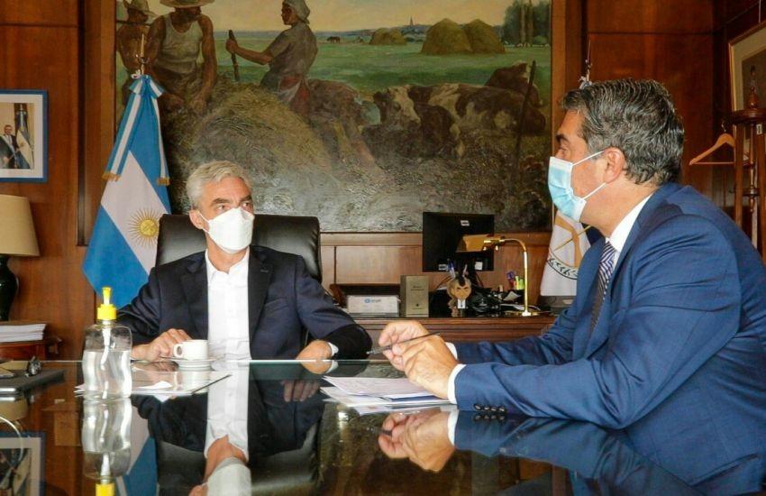CAPITANICH EN BUENOS AIRES: MEONI GARANTIZÓ FONDOS PARA TERMINALES DE ÓMNIBUS Y SUBSIDIO PARA EL TRANSPORTE URBANO DE PASAJEROS