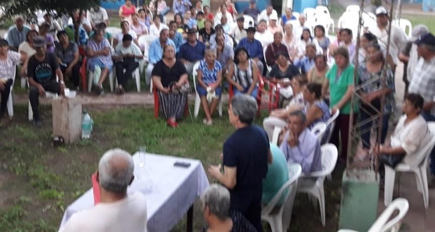 EL INTENDENTE CARLOS IBAÑEZ SE REUNIÓ CON LOS JUBILADO Y PENSIONADOS AFILIADOS A PAMI