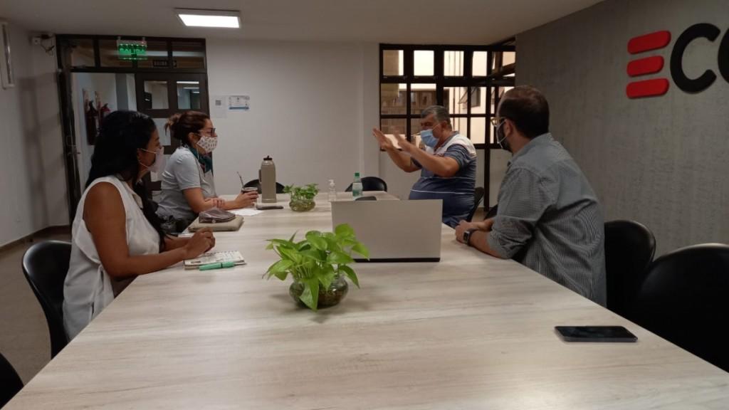 ECOM Chaco planifica la expansión de redes de internet en la provincia