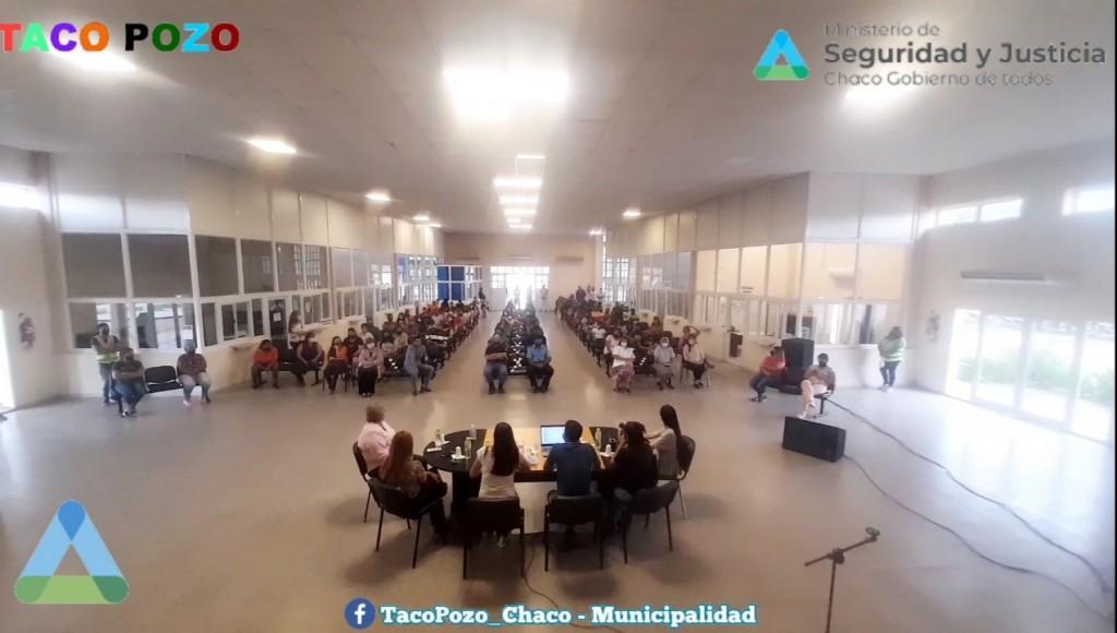 EL MINISTERIO DE SEGURIDAD Y JUSTICIA AVANZA CON EL PROGRAMA DE MEDIACIÓN COMUNITARIA
