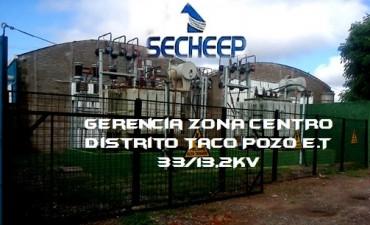 Aviso  Secheep Taco Pozo