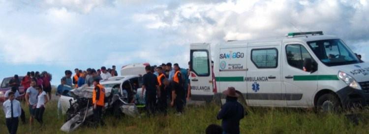 Ruta Nacional 9: identificaron a las víctimas fatales del brutal choque en Ojo de Agua
