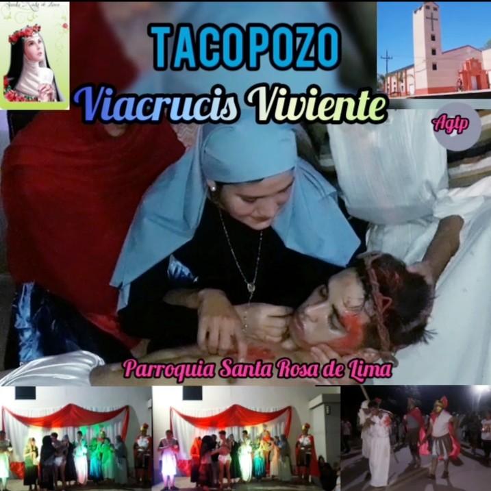 Viacrucis  en Taco Pozo