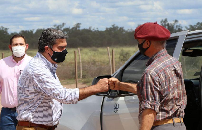 CAPITANICH VISITÓ EMPRENDIMIENTO AGROPECUARIO Y DESTACÓ LA IMPORTANCIA DE IMPULSAR ENERGÍAS RENOVABLES