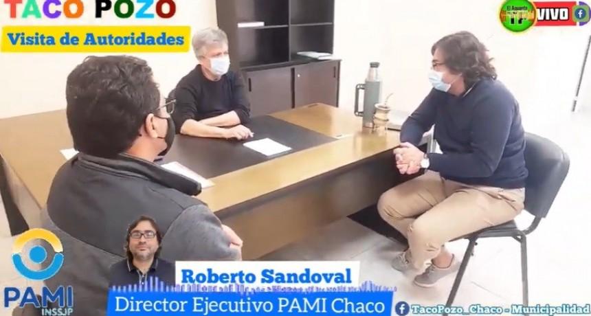 VISITA AUTORIDADE DE PAMI CHACO