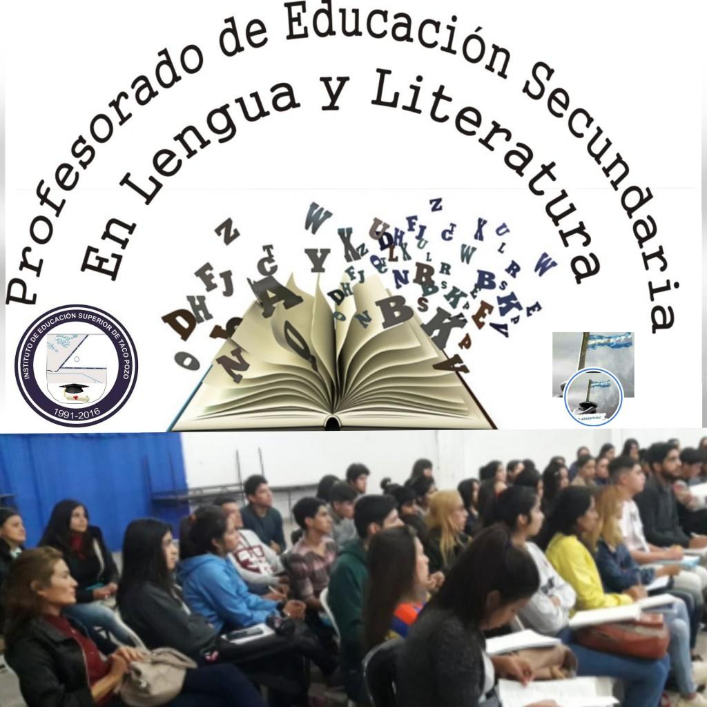 PROFESORADO DE EDUCACION SECUNDARIA EN LENGUA Y LITERATURA.