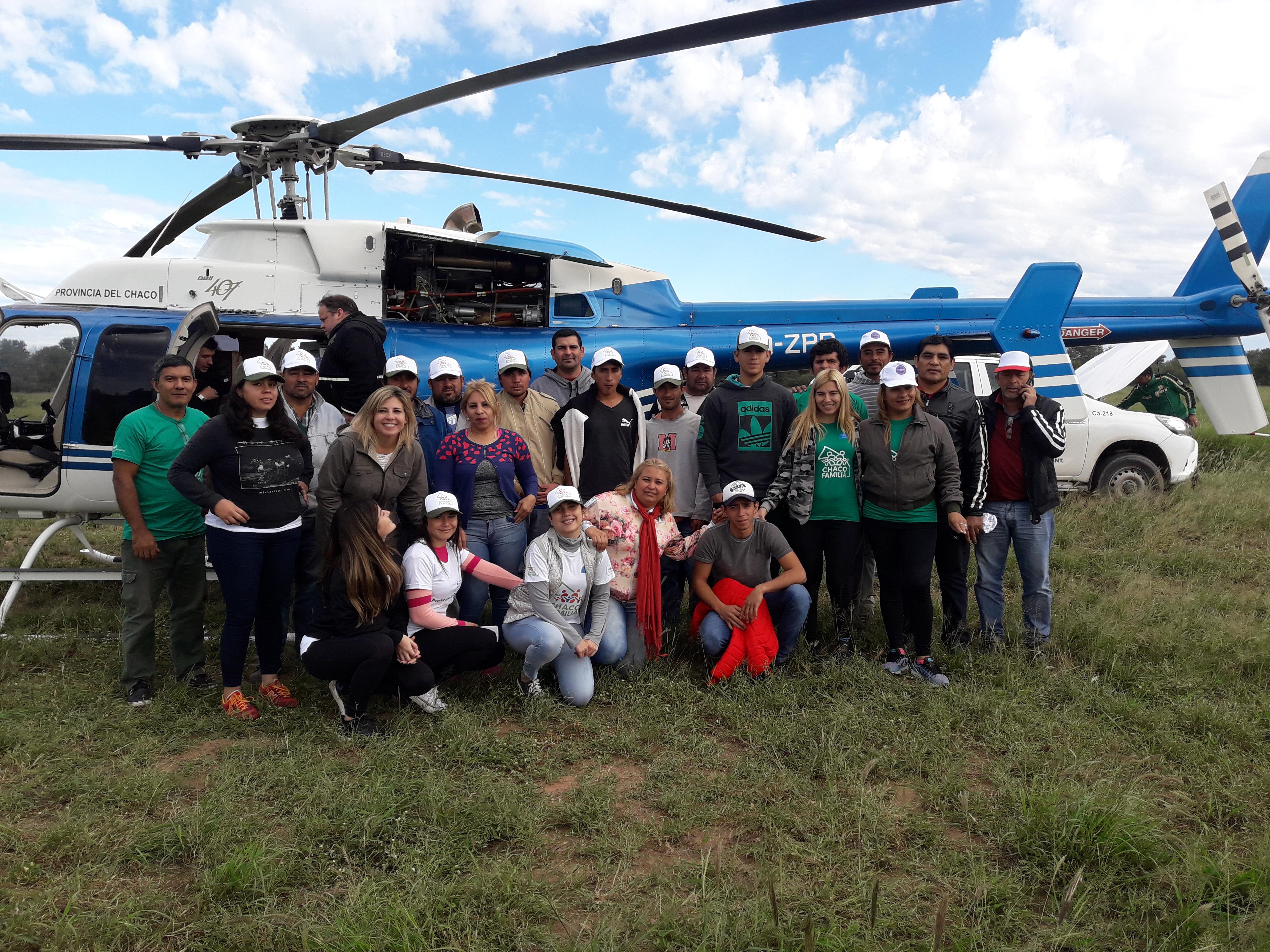 EMERGENCIA HÍDRIGA: EL GOBIERNO INICIÓ MEGAOPERATIVOS DE ASISTENCIA HUMANITARIA PARA FAMILIAS DE EL IMPENETRABLE