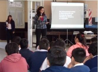Inadi brinda charlas en escuelas para prevenir actos de discriminación