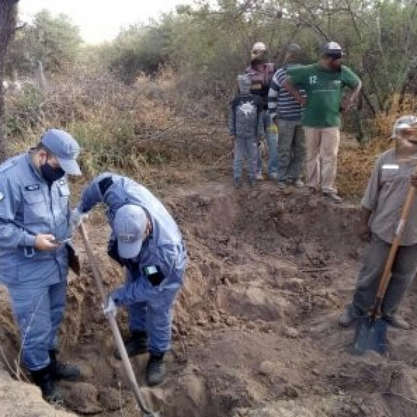 Tenebroso hallazgo en Taco Pozo: encuentran restos óseos en una ladrillería