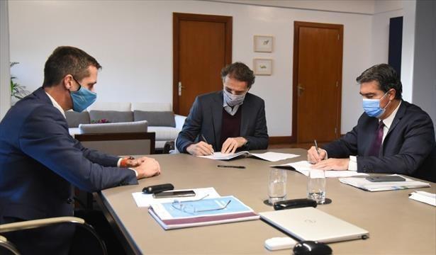 Capitanich y Katopodis acordaron agenda por numerosas obras