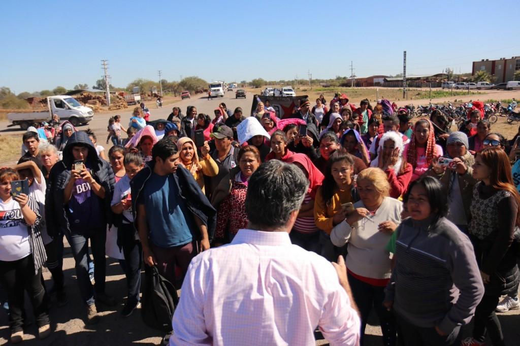 Capitanich destrabó un conflicto sobre ruta 16 en Santiago del Estero