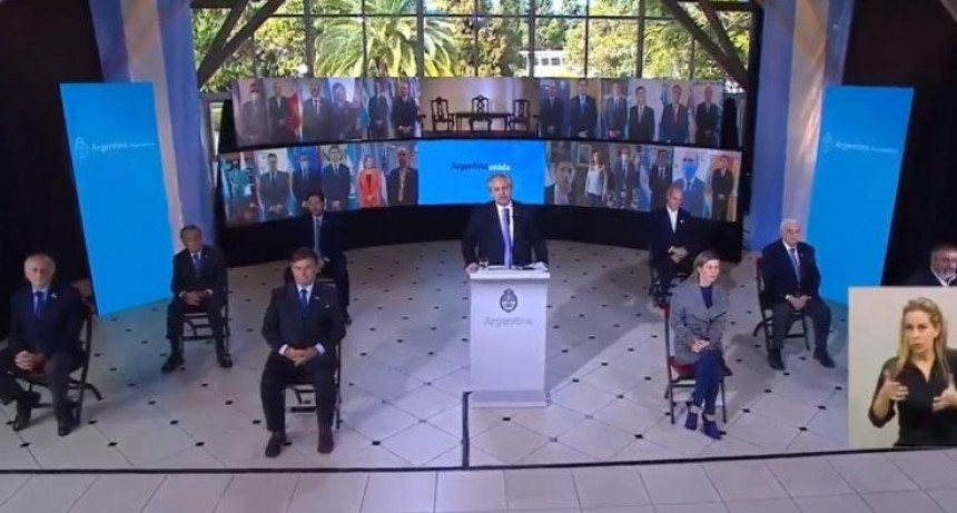 Capitanich participó del Acto Nacional por el 204° aniversario de la Declaración de la Independencia