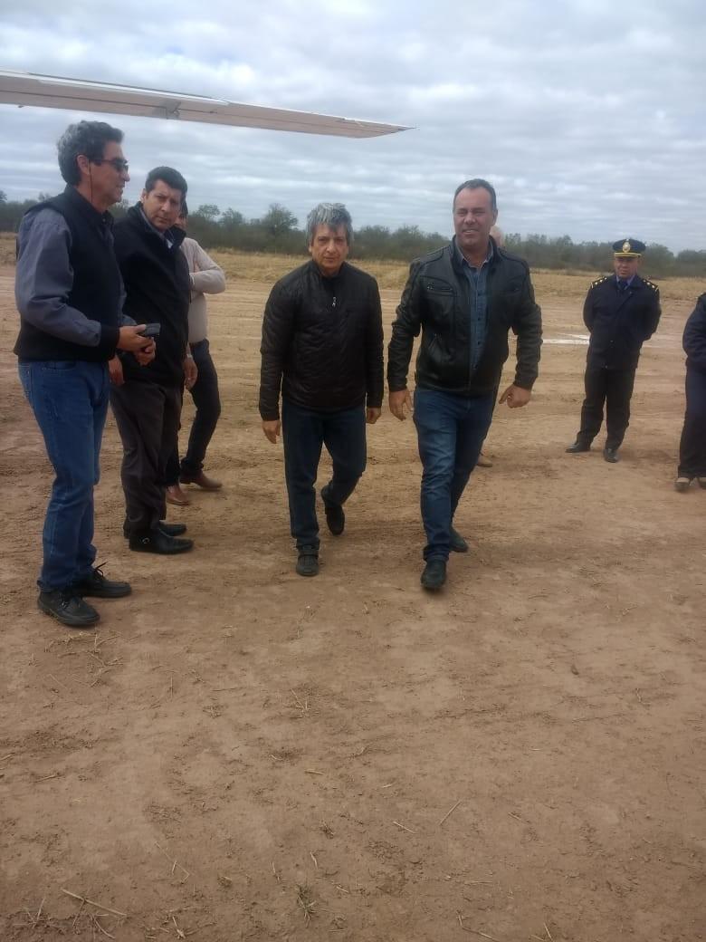 EL Vice Gobernador Daniel Capitanich Visitó Taco Pozo