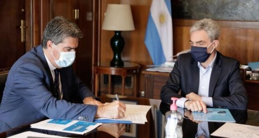 Capitanich gestionó fondos ante Nación para avanzar con la renovación de las terminales de ómnibus