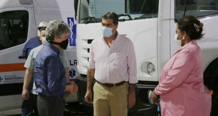 CAPITANICH ENTREGÓ EQUIPAMIENTO Y LLAMÓ A FORTALECER LA CAPACIDAD INSTITUCIONAL DE LOS MUNICIPIOS EN VÍSPERAS DEL 85° ANIVERSARIO DE TACO POZO