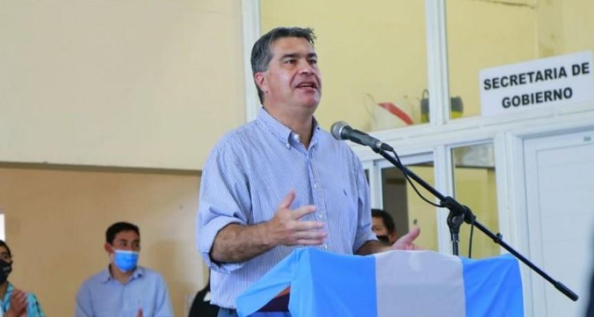CAPITANICH VISITÓ TACO POZO EN EL 86º ANIVERSARIO DE LA LOCALIDAD