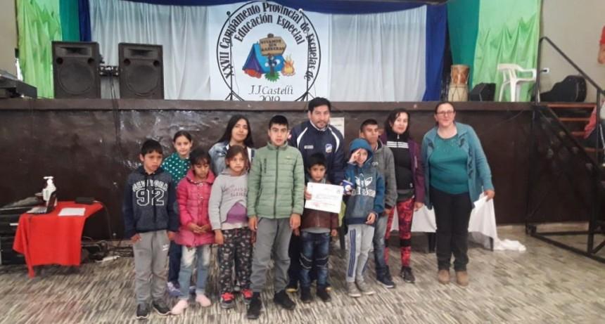 XXVII CAMPAMENTO PROVINCIAL DE ESCUELAS ESPECIALES