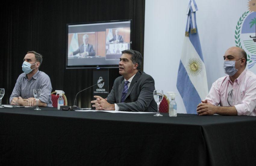 CAPITANICH Y MEONI REPASARON EL ESTADO DE LAS OBRAS PLANIFICADAS PARA INTEGRAR EL TRANSPORTE EN LA PROVINCIA - Terminales de ómnibus para Taco Pozo y San Martín -